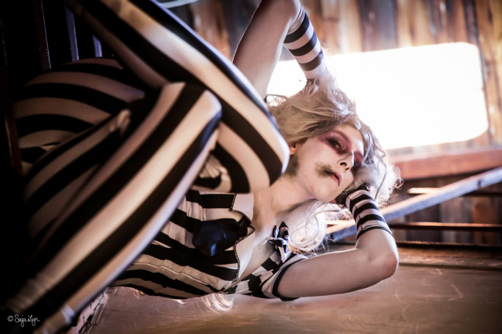 SajaLyn Cosplay Beetlejuice Tim Burton