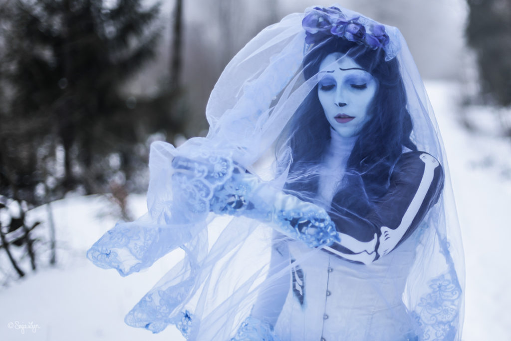 Emily Corpse Bride Cosplay Kostüm Tim Burton