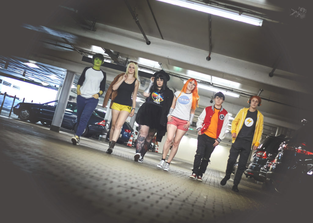 Teen Titans Casual Cosplay Gruppe Franco cool Gang