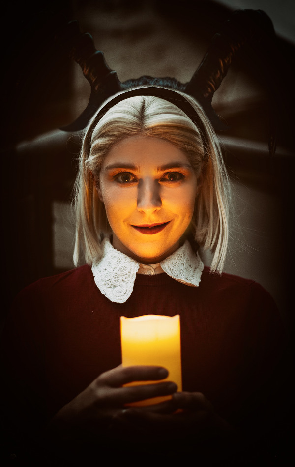 Sabrina Spellman The Chilling Adventures of Sabrina Netflix Cosplay Kostüm  Satan