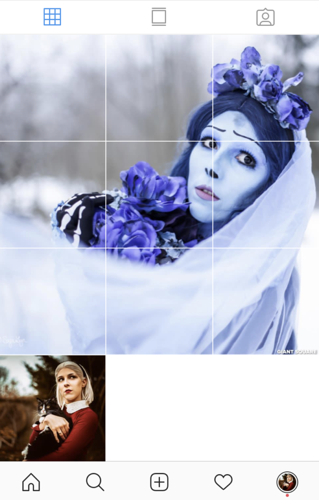 Instagram Mosaik sajalyn
