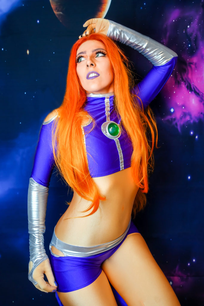 Starfire New 52 Cosplay SajaLyn