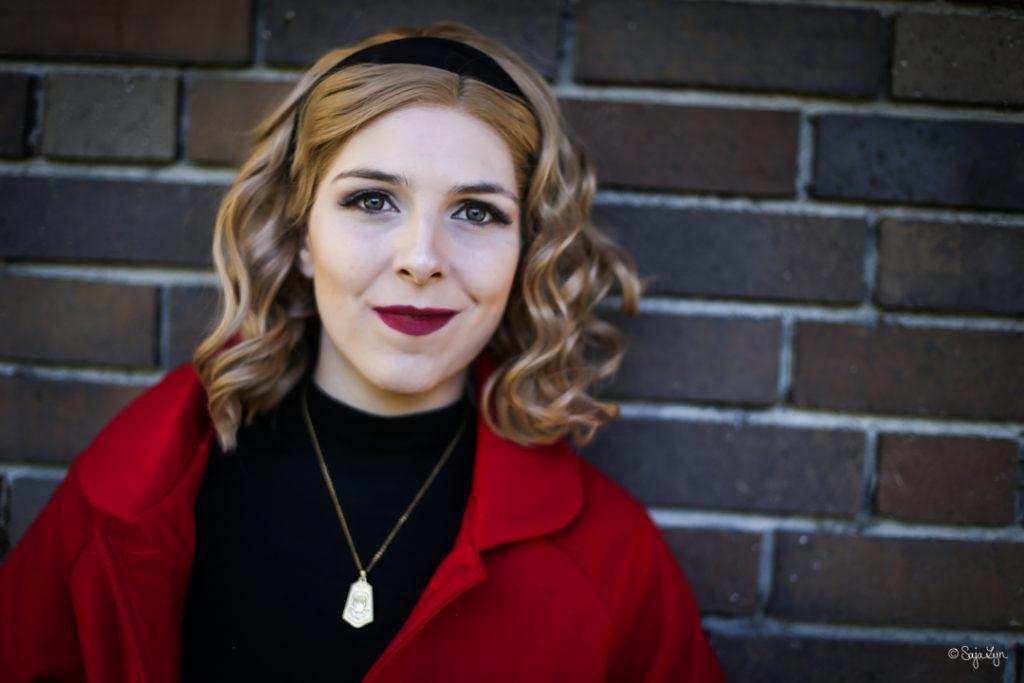 Sabrina Spellman Chilling Adventures of Sabrina Netflix Wig is Fashion Cosplay SajaLyn