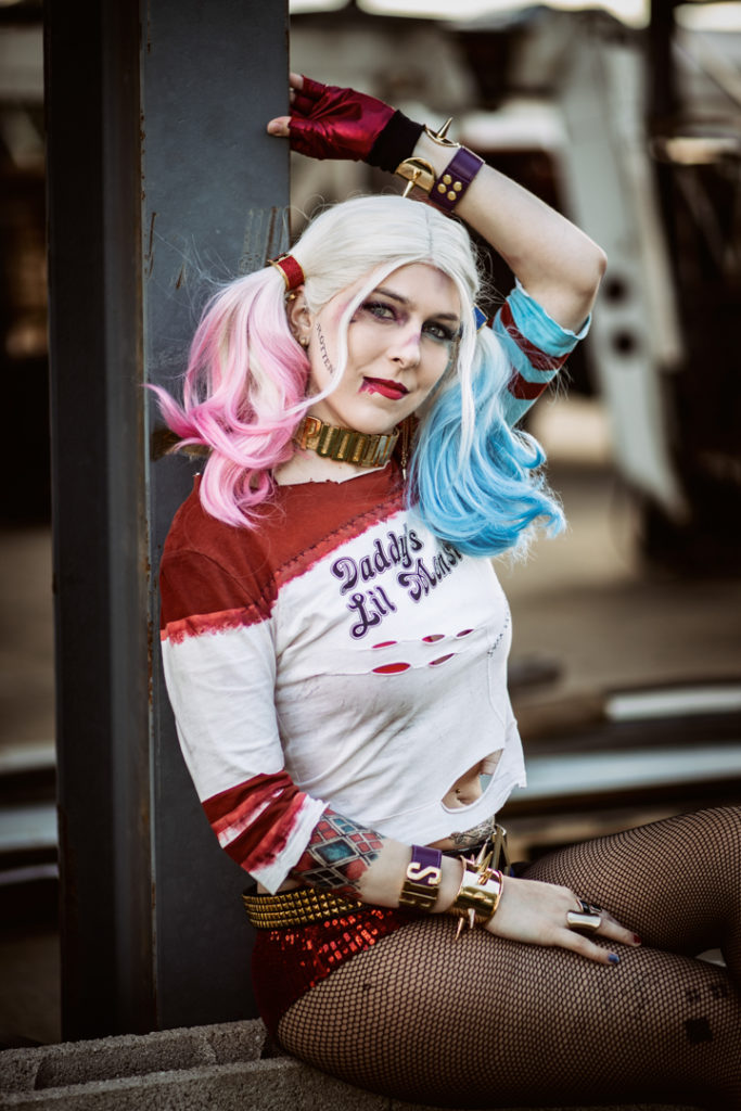 Harley Quinn Suicide Squad Birds of Prey Cosplay SajaLyn CosplayBuzz