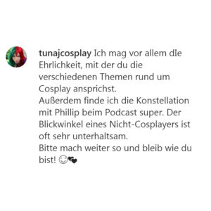 feedback_tunajcosplay