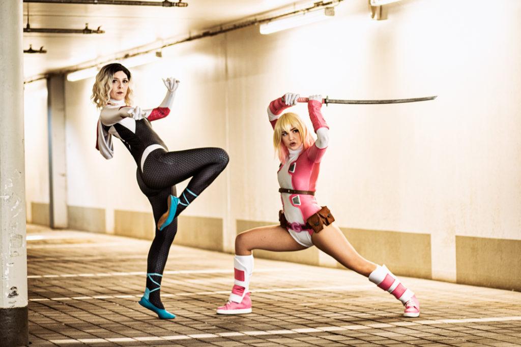 SajaLyn Cosplay Spider-Gwen Gwenpool Marvel