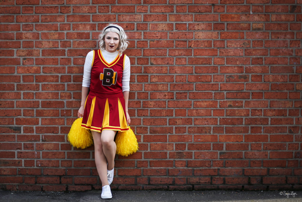 Sabrina Spellman Cheerleader Chilling Adventures of Sabrina Cosplay SajaLyn