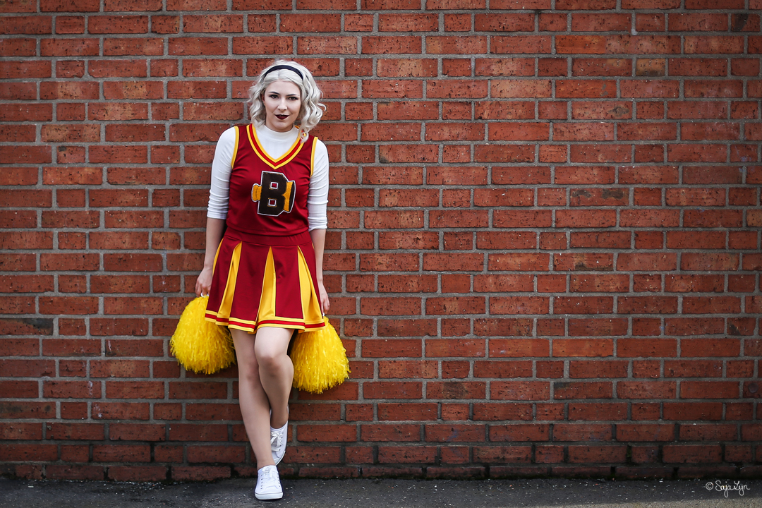 Sabrina Spellman Cheerleader Chilling Adventures of Sabrina Cosplay SajaLyn