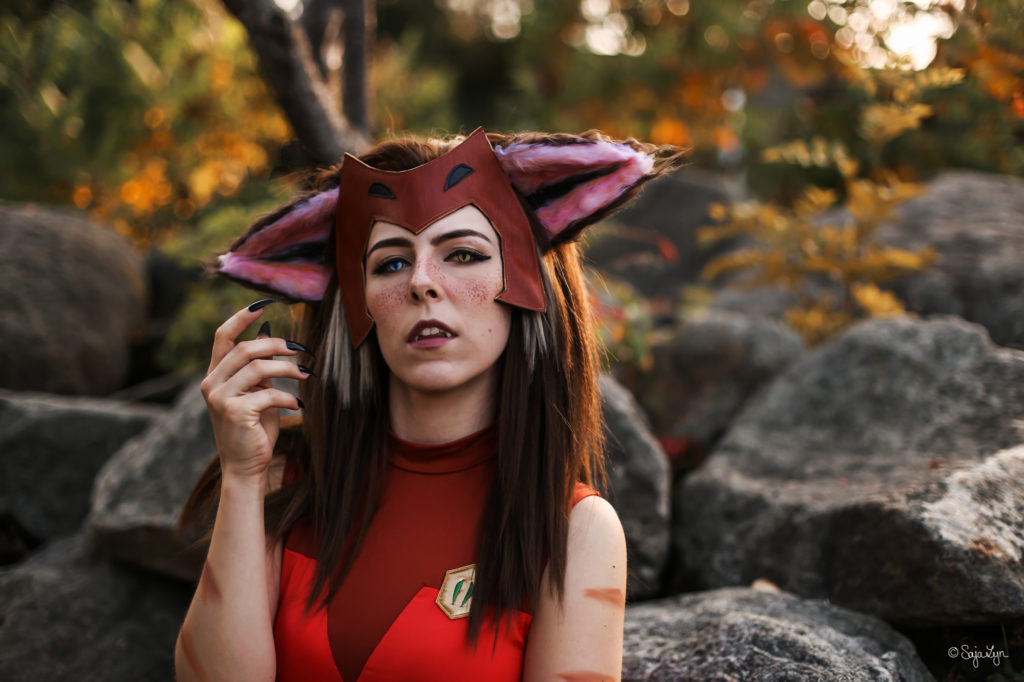 SajaLyn Cosplay Catra She-Ra Shera Wig Ear Ohren Perücke Tutorial
