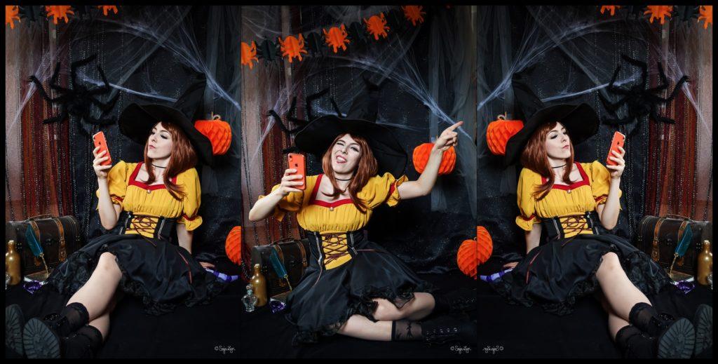 Sajalyn Cosplay Ochako Witch Halloween My Hero Academia Boku no Hero Academia BNHA Uravity Hexe